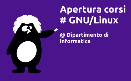 Corso di GNU/Linux al Dipartimento di Informatica di Torino