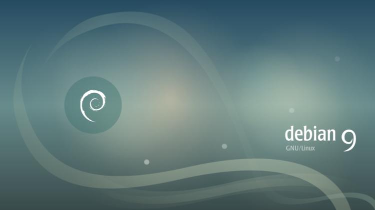 Debian 9 desktop